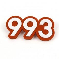 993 고무뱃지