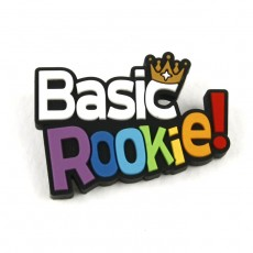 Basic rookie 고무뱃지