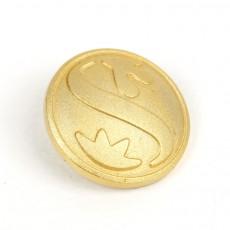 신한은행 입체 금도금 샌딩뱃지