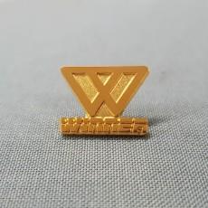 로고-금도금 샌딩 뱃지